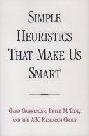 Simple Heuristics that Make Us Smart Pdf/ePub eBook