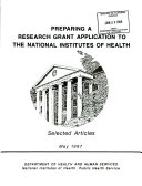 Preparing a Research Grant Application to the National Institutes of Health