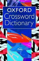 Oxford Crossword Dictionary
