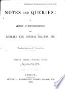 Notes and Queries Pdf/ePub eBook