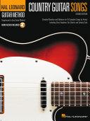 Country Guitar Songs Hal Leonard Guitar Method Supplement Book PDF