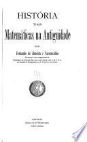 História das matemáticas na antiguidade