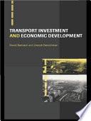 Transport Investment and Economic Development Book