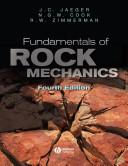 Fundamentals of Rock Mechanics