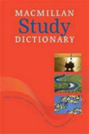 Books - Mac Study Dictionary | ISBN 9780230037137
