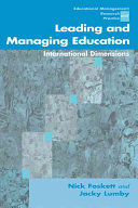 Leading and Managing Education