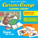 Curious George Learning Library banner backdrop