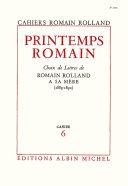 Pdf Printemps romain Telecharger