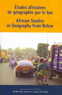 Pdf African Studies in Geography from Below Telecharger