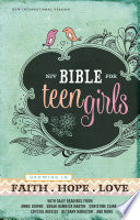 """NIV, Bible for Teen Girls, eBook: Growing in Faith, Hope, and Love"" by Zondervan,"