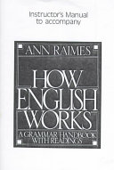 How English Works Instructor s Manual