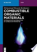 Combustible Organic Materials Book