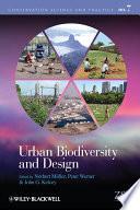 Urban Biodiversity And Design Book PDF