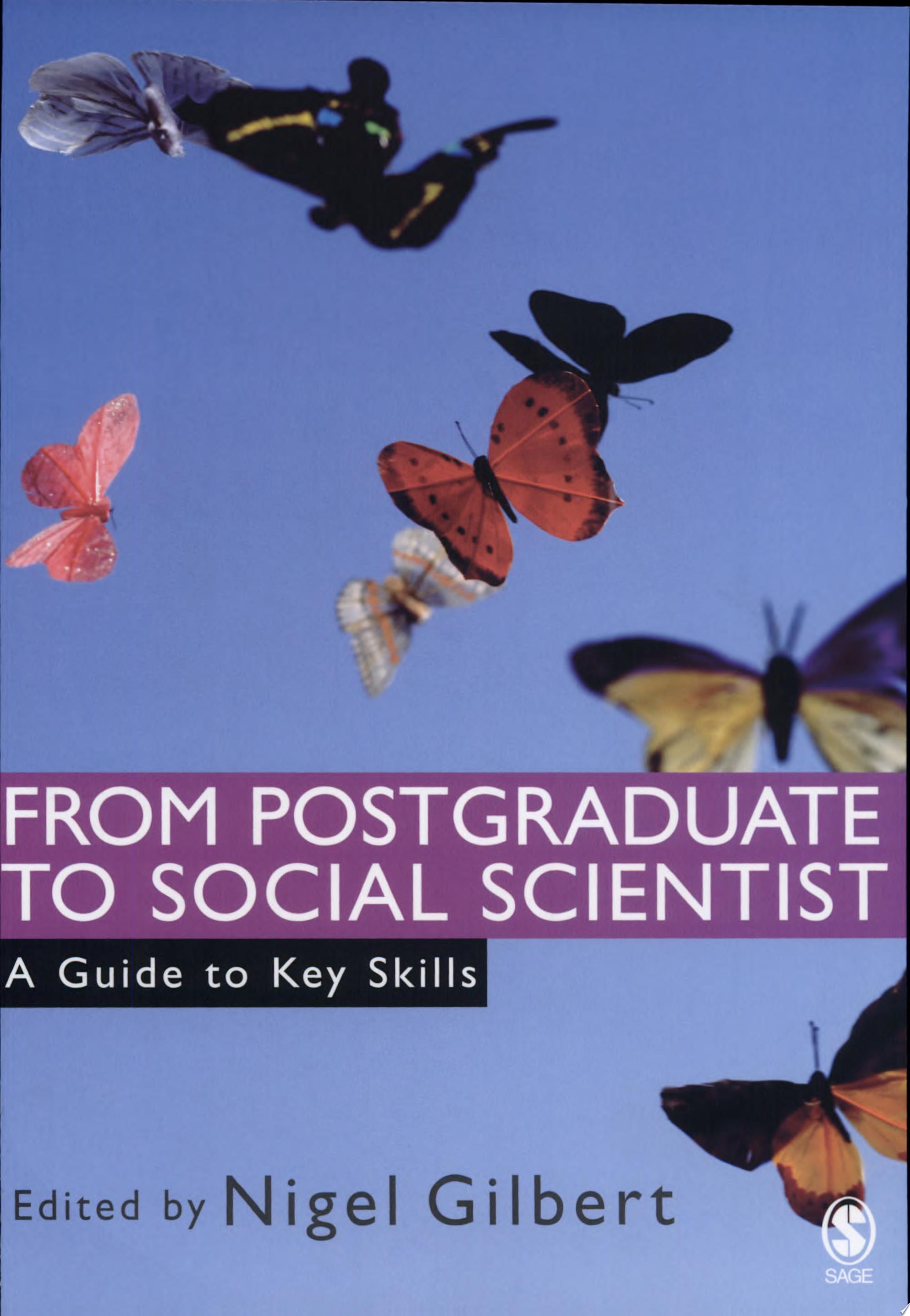 From Postgraduate to Social Scientist