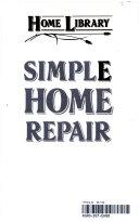 Simple home repair