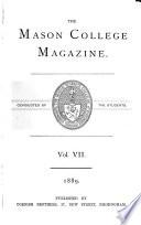 The Mason College Magazine