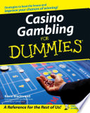 """Casino Gambling For Dummies"" by Kevin Blackwood, Max Rubin"