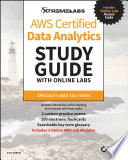 AWS Certified Data Analytics Study Guide with Online Labs Book