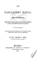 The Class Leader S Manual