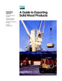 Aguide to exporting Solid Wood Products Pdf/ePub eBook