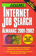 Adams Internet Job Search Almanac  2001 2002