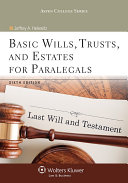 Basic Wills, Trusts, and Estates for Paralegals - Seite iii