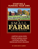 Starting   Running Your Own Small Farm Business Book PDF
