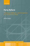 Party Reform Pdf/ePub eBook