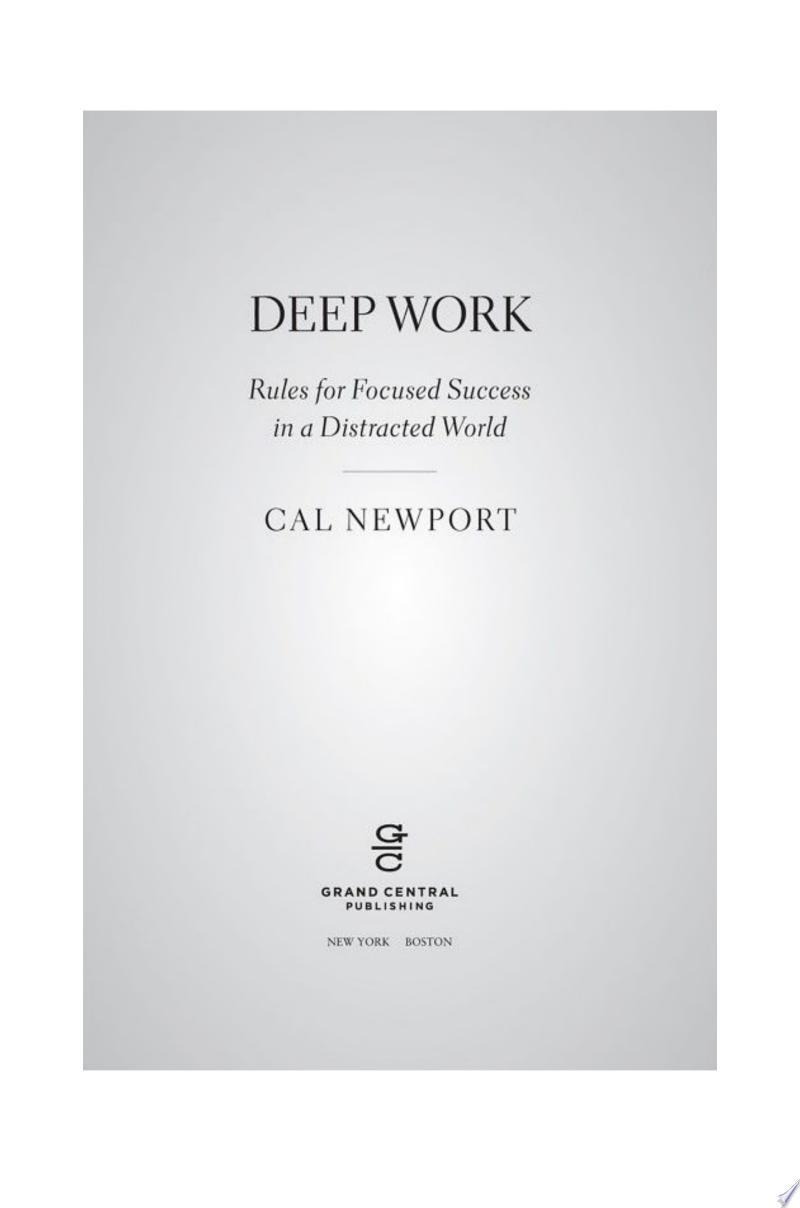 Deep Work image