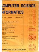 Computer Science and Informatics