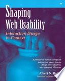 Shaping Web Usability