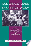 Cultural Studies Of Modern Germany
