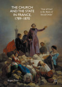 Pdf The Church and the State in France, 1789-1870 Telecharger