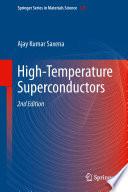 High Temperature Superconductors Book