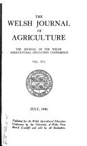 The Welsh Journal of Agriculture