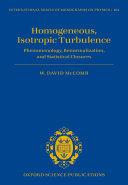 Homogeneous  Isotropic Turbulence