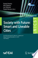 Society With Future Smart And Liveable Cities