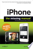 """""""IPhone: The Missing Manual"""" by David Pogue"""