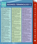 Business Terminology I  Speedy Study Guides