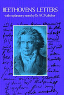 Beethoven's Letters Book