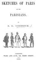 Sketches of Paris and the Parisians