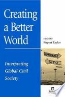 Creating a Better World Book