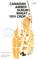 Canadian Amber Durum Wheat     Crop
