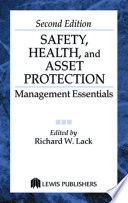 Safety Health And Asset Protection Book