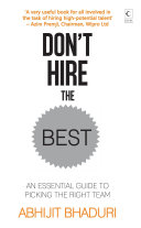Don't Hire The Best