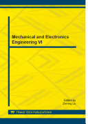 Mechanical and Electronics Engineering VI