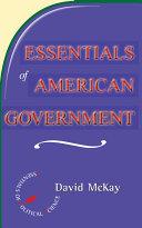 Essentials Of American Politics Pdf/ePub eBook
