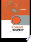 The Challenge To Scholarship