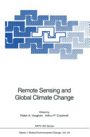 Remote Sensing and Global Climate Change