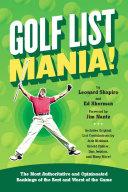 Golf List Mania!